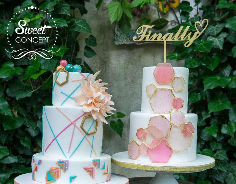 (P) Precious Chic Collection – statement wedding cakes
