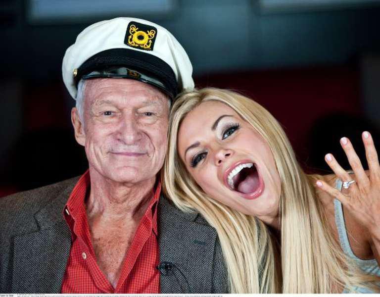 Hugh Hefner și visul său American în varianta nud