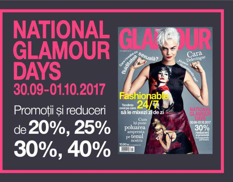 National GLAMOUR Days 2017: un nou weekend de reduceri substanțiale