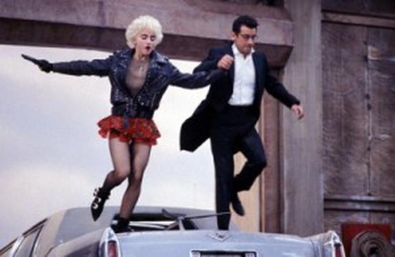 Madonna şi Griffin Dunne