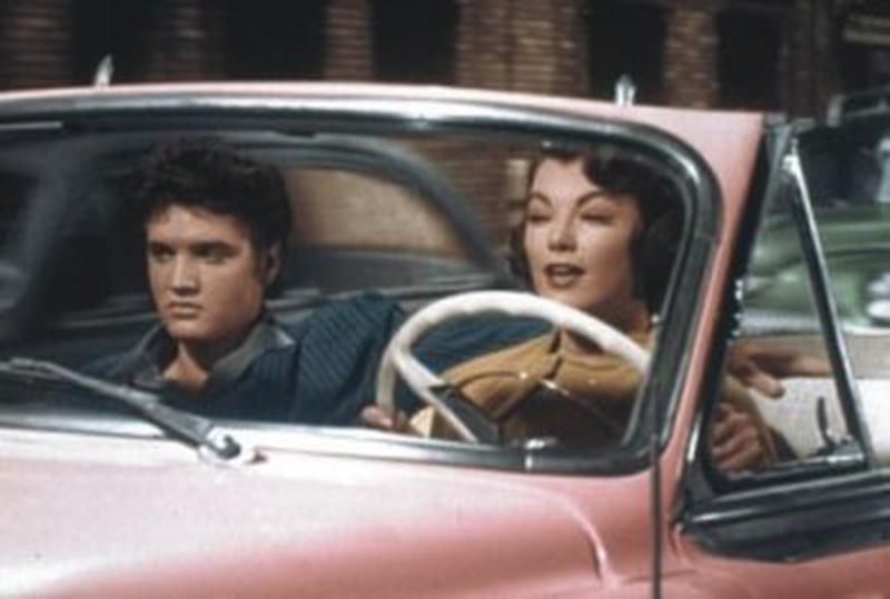 Elvis Presley şi Judy Tyler