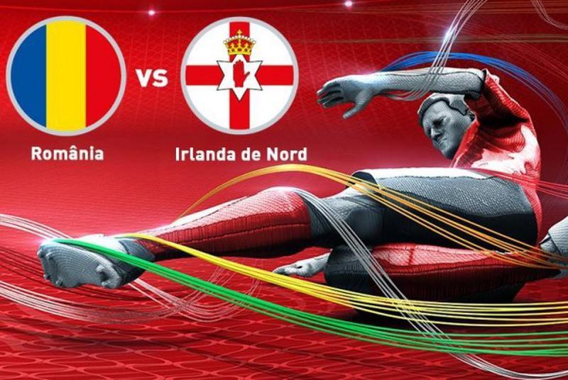 meci Romania-Irlanda de Nord