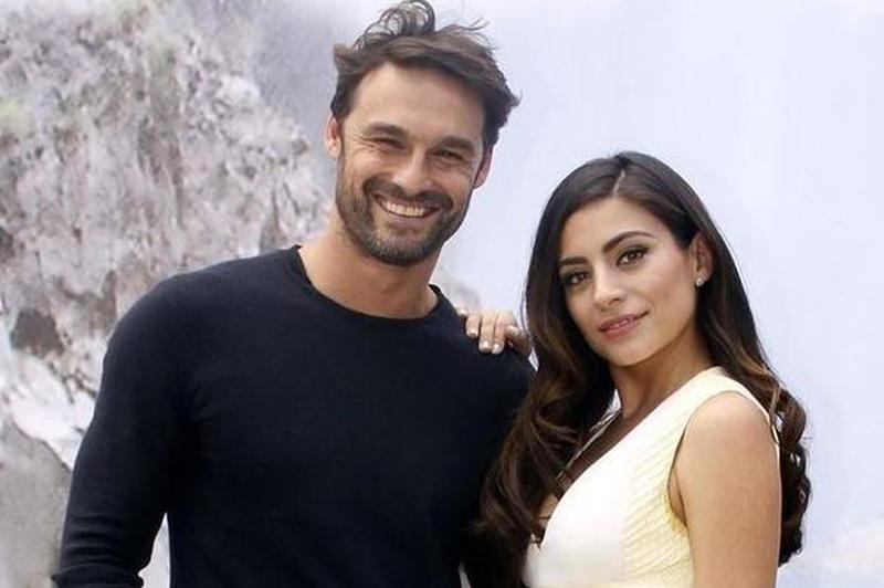 Ana Brenda Contreras y Ivan Sanchez