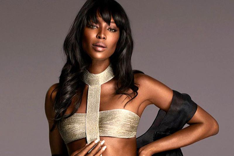 Naomi Campbell makes her apperance in La Perla Measure Atelier campaign