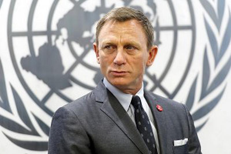 Daniel Craig, alias James Bond a été nommé par Ban Ki-moon