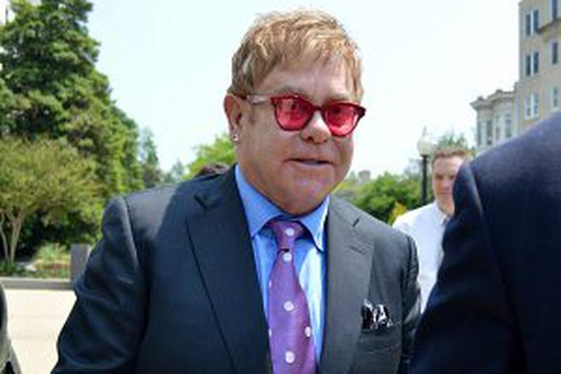 Sir Elton John Testifies Before Congress To Urge Support In Fight Against HIV/AIDS