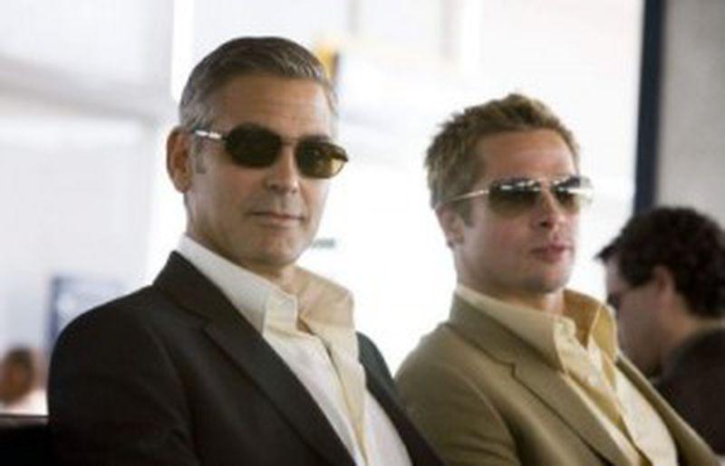Brad Pitt şi George Clooney