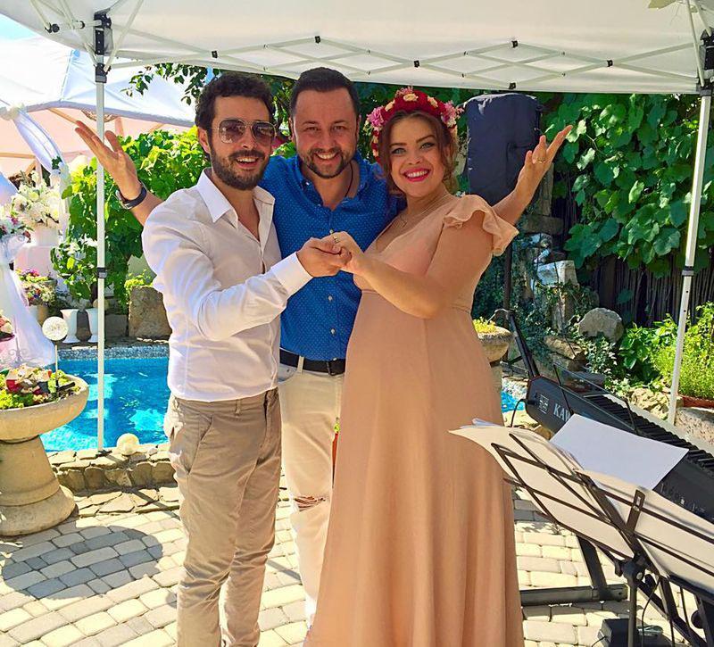 Marius Moga şi Bianca Lăpuşte au devenit soț și soție (1)