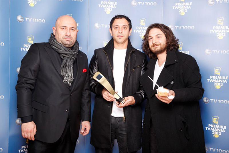chefii Sorin Bontea, Florin Dumitrescu și Cătălin Scărlătescu -