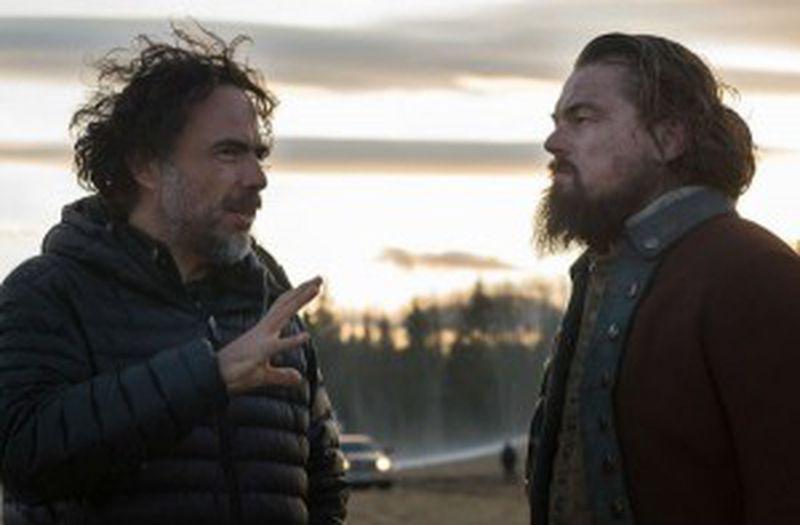 "Alejandro G. Inarritu și Leonardo DiCaprio - ""The Revenant"""