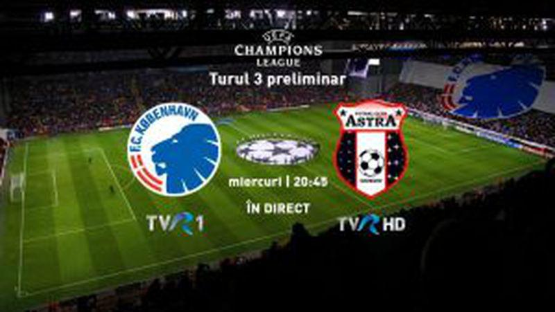 FC Copenhaga - Astra Giurgiu