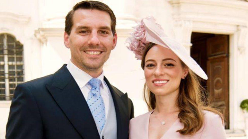 Principele Nicolae si Maria Binder