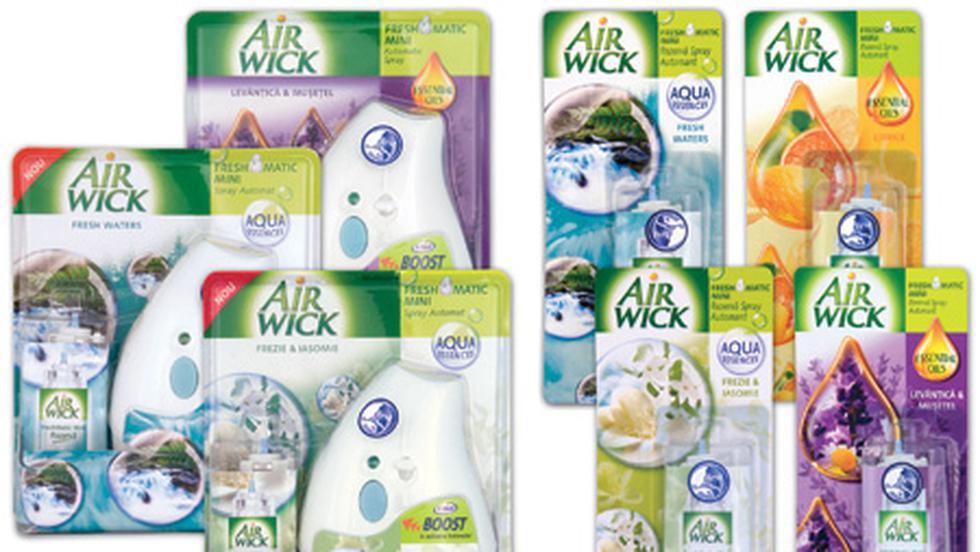 Reckitt Benckiser lanseaza Air Wick Freshmatic Mini