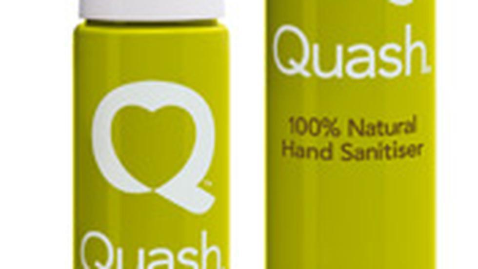 Quash – spray antibacterian pentru igienizarea mainilor