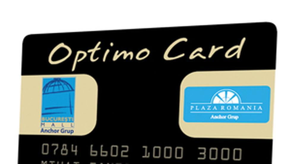 Anchor Group a lansat Optimo Card