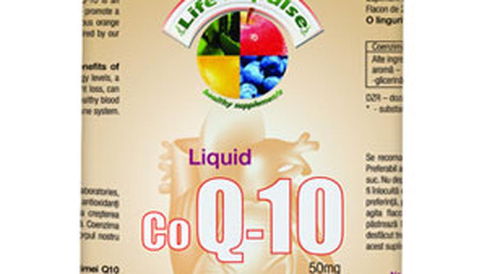 Supliment alimentar Life Impulse cu coenzima Q10