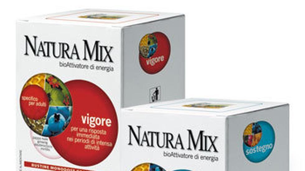 Aboca Natura Mix granule tonice-energizante pentru adulti si copii