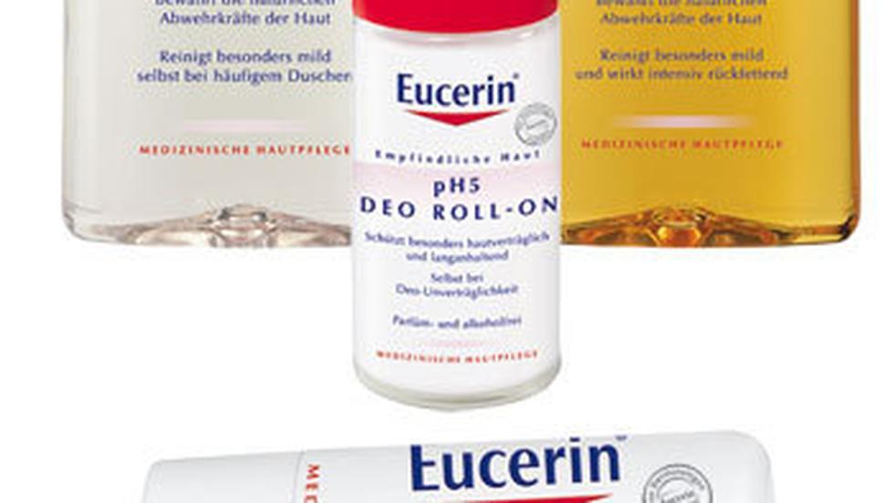 O piele ingrijita cu produsele din gama Eucerin pH5