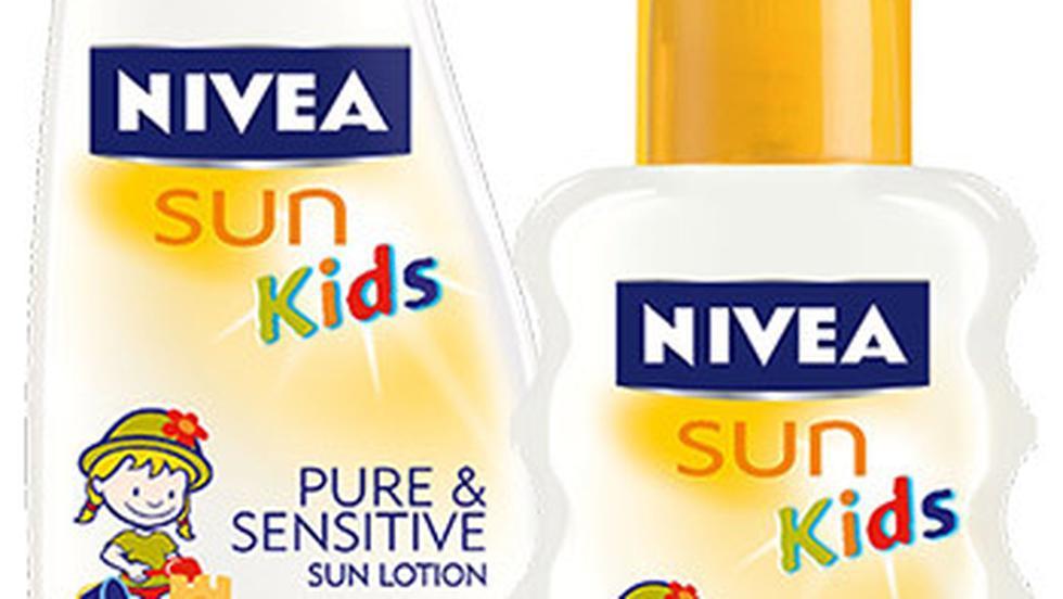 Protectie solara avansata pentru copii, cu NIVEA Sun Kids Pure & Sensitive FPS 50+