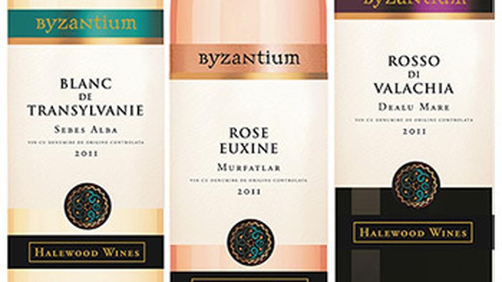 Vinurile Blanc de Transylvanie, Rose Euxine si Rosso di Valachia, din gma Byzantium