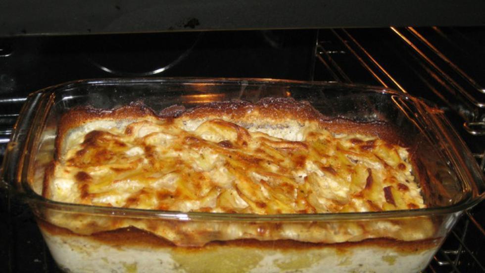 cartofi dauphinois