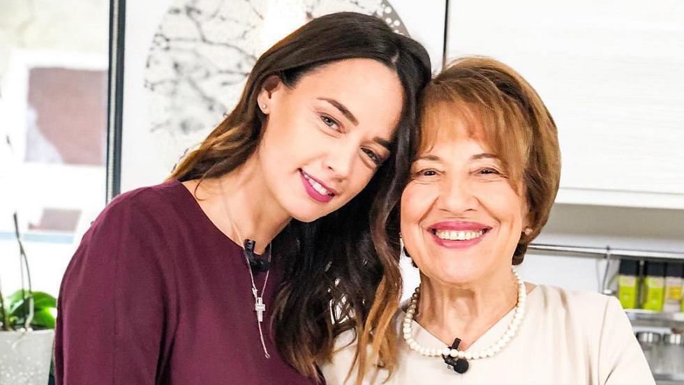 Andreea Raicu și mama ei