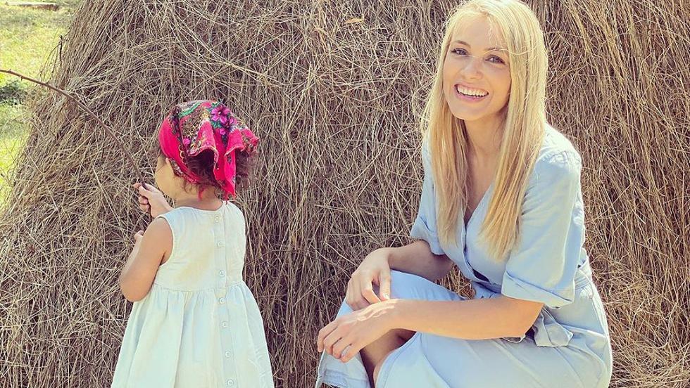 Andreea Ibacka și fiica ei Namiko