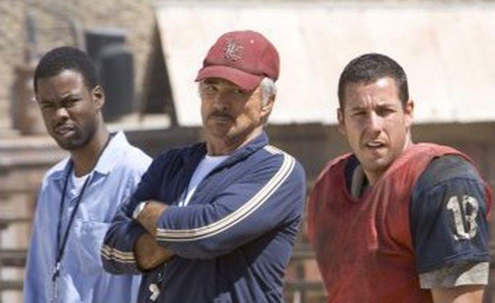 Echipa sfarmă tot   Adam Sandler, Chris Rock şi Burt Reynolds