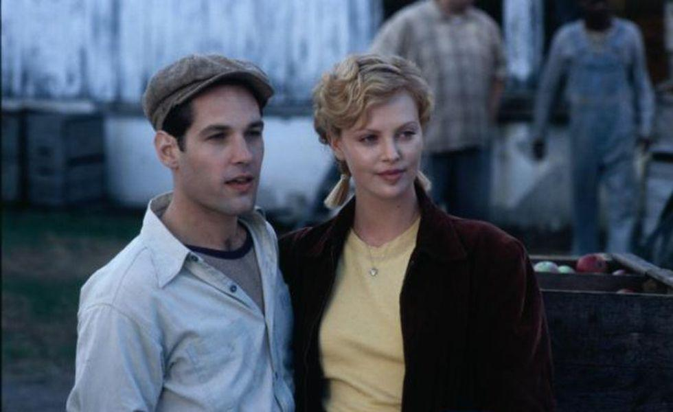 The Cider House Rules Charlize Theron and Paul Rudd