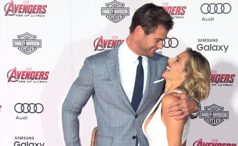 Chris Hemsworth şi Elsa Pataky