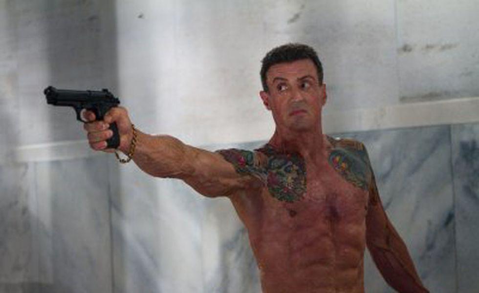 Un glonţ în cap   Sylvester Stallone