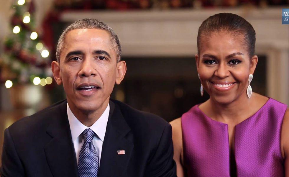 Barack Obama si Michelle Obama