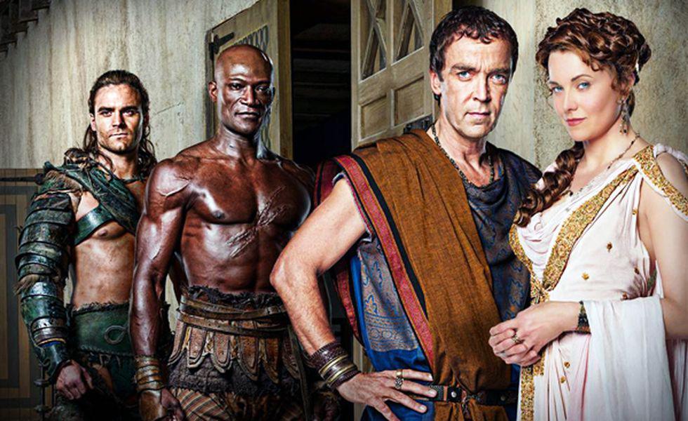 Spartacu Zeii arenei HBO