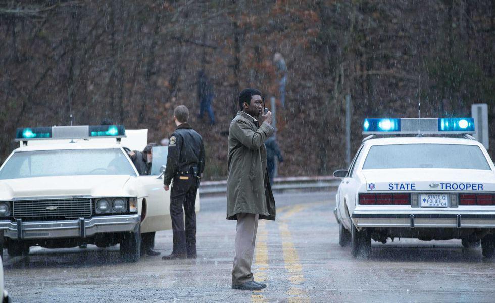 Wayne on Bridge   Searchparty all around. (Warrick Page/HBO)