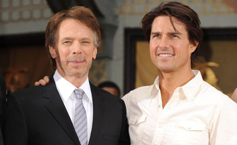 Jerry Bruckheimer Hand And Footprint Ceremony