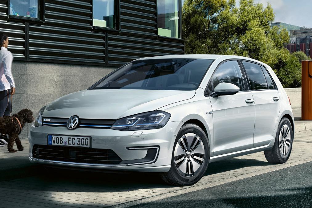 2017 volkswagen e golf vii facelift 7 auto bild. Black Bedroom Furniture Sets. Home Design Ideas