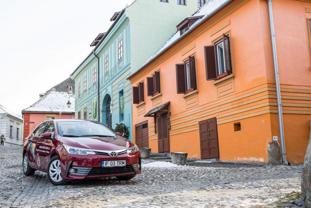 Toyota Corolla – Spațiul care îngheață timpul
