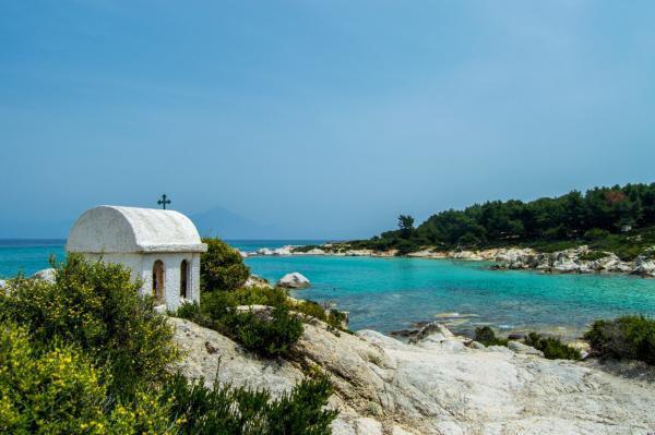(P) Halkidiki, peninsula cu forma tridentului lui Poseidon