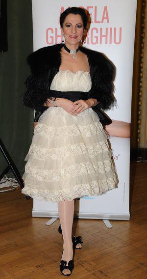 "Angela Gheorghiu si-a prezentat 'Tosca"" la Opera Nationala din Bucuresti"