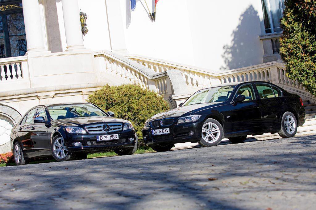 Mercedes C220 CDI vs BMW 320d – Intruchiparea perfectiunii
