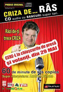 Concurs CRIZA DE… RAS – Iulie 2009