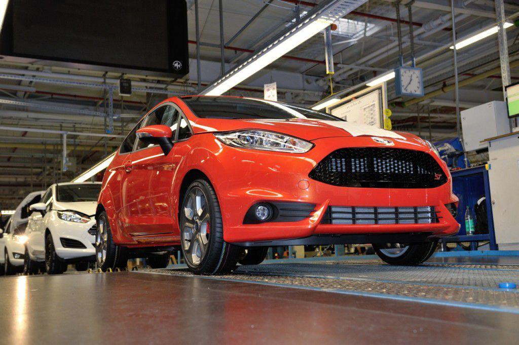 Fiesta ST intra in productie