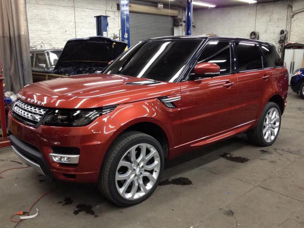 Noul Range Rover Sport la Salonul de la New York