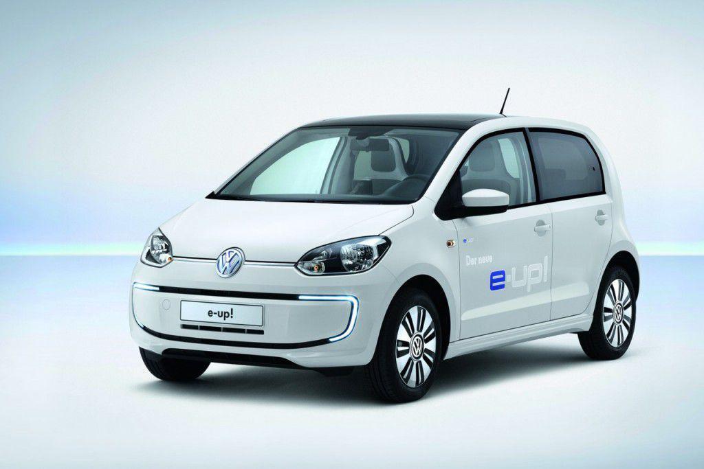 Volkswagen e-up! vine la Frankfurt