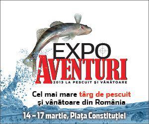 Auto Bild si Expo Aventuri la pescuit si vanatoare te invita la CONCURS