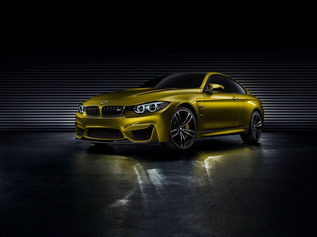 BMW M4 Concept la Pebble Beach