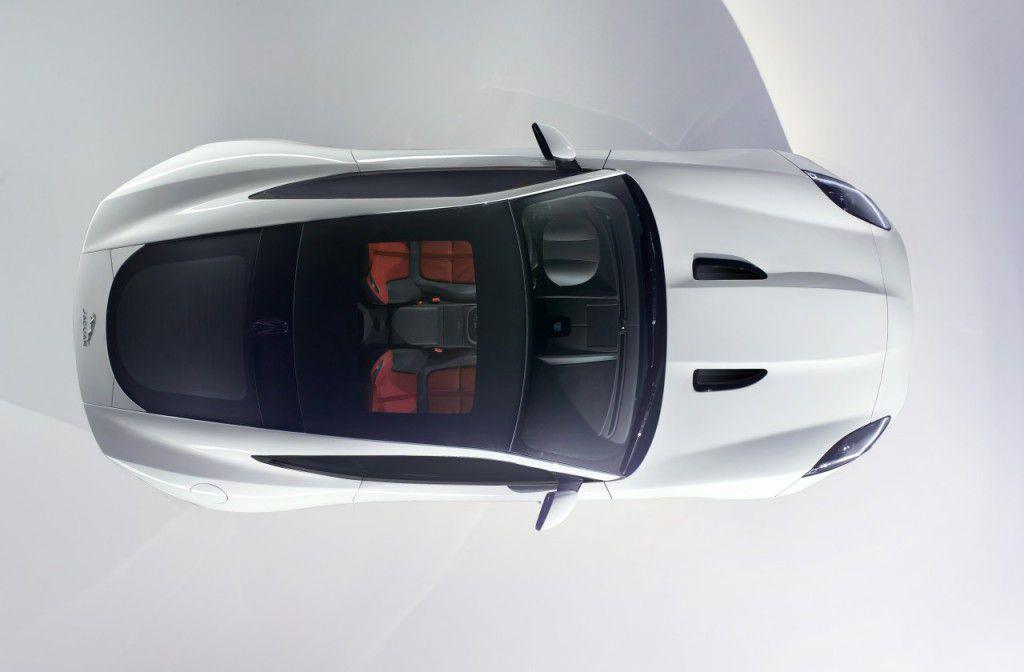 Jaguar F-Type Coupe: prima imagine oficiala