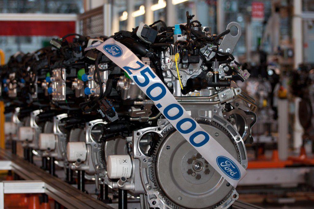 Ford construiește motorul cu numărul 250.000 la Craiova