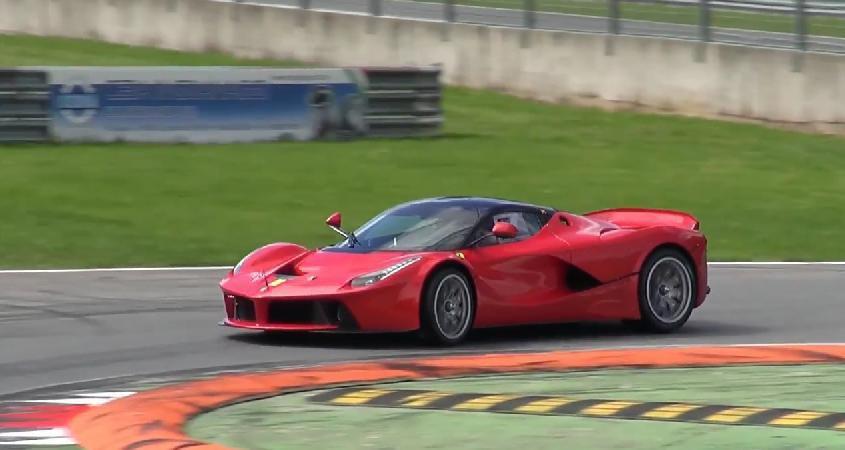 Un prototip Ferrari LaFerrari XX testat pe circuitul de la Monza (video)