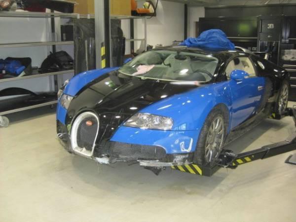Chilipir sau nu? Bugatti Veyron scos la licitatie pentru 190.000 de euro